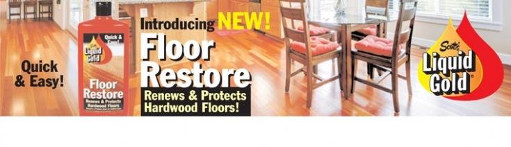 how to use liquid gold floor restore